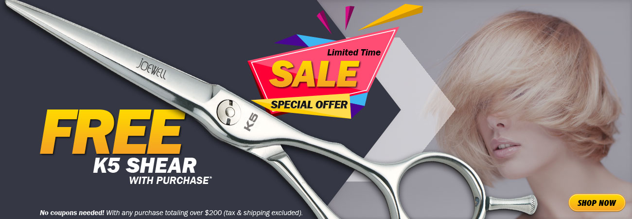 Free K5 Shear with purchase!