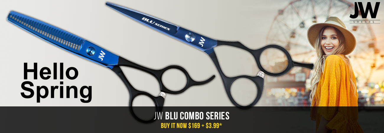 JW Blu Shear & Thinner Set